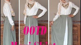 OOTD Hijab Maxi Skirt  | Hijab et longue jupe Thumbnail