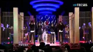 081207 E511 SBS Inkigayo Eun Ji Won - Dangerous 130210