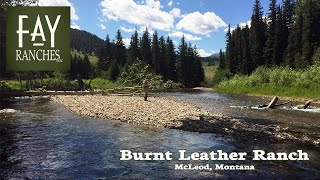 Montana Ranches For Sale - Burnt Leather Ranch