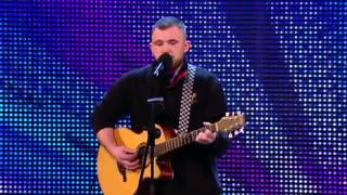 robbie kennedy sings iris by the goo goo dolls britains got talent 2013