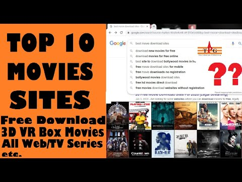 TOP 10 MOVIE SITES [Free Download Latest Movies, 3D VR BOX, All Series Etc.]  #TechnicalPanditG
