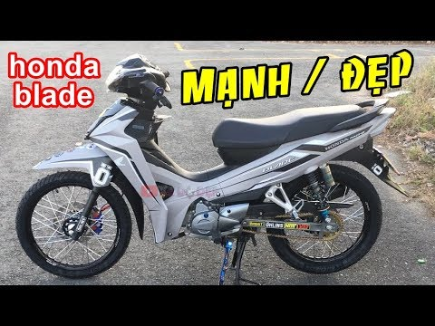 Honda Blade 110 độ Cực đẹp Nam Tính Lịch Lãm
