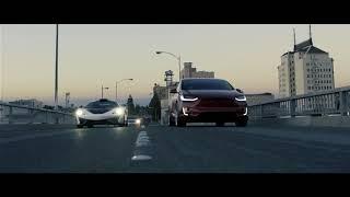 The McLaren and The Tesla