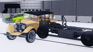 BeamNG DRIVE Mod  Auriga Heron 1927 0.9 Beta Crash Testing