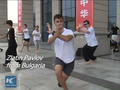 Taichi class in its Chinese birthplace takes on global zeal