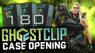 Dirty Bomb | Opening 180 GhostClip Cases + Gameplay