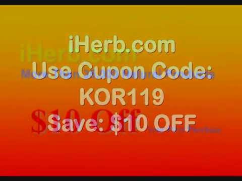 iHerb Coupon Code KOR119 – $10 Off Your First Purchase FREE INTERNATIONAL SHIPPING!