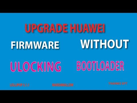 How To Flash Huawei Mate 7(mt7-l09)  Without Unlock Bootloader(easy Firmware)eft