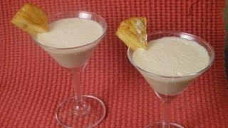 Caramelized Pineapple Slush | Sanjeev Kapoor Khazana