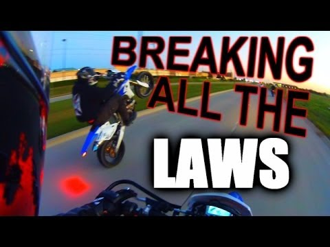 supermotos breaking all the laws youtube. Black Bedroom Furniture Sets. Home Design Ideas
