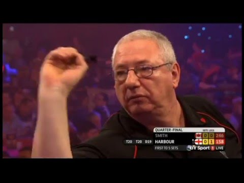 2016 BDO World Darts Championship Quarter FInal Smith vs Harbour
