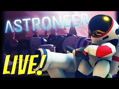 🔴 ASTRONEER Livestream: UPDATE 0.9.0.0 SHRED ALL THE THINGS! 🔥🔥🔥