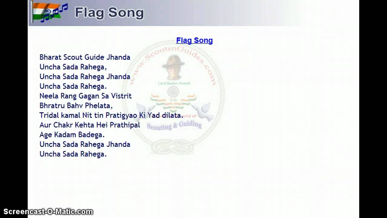 girl guide flag song  YouTube