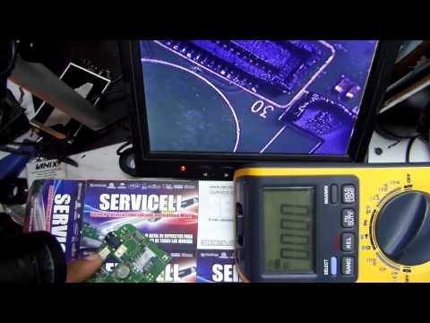 curso celulares reparacion y explicacion de avvio 792 sin luz en display , light display solution