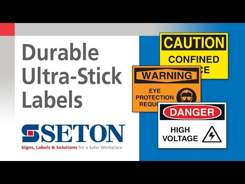 Introducing Ultra-Stick Adhesive Labels