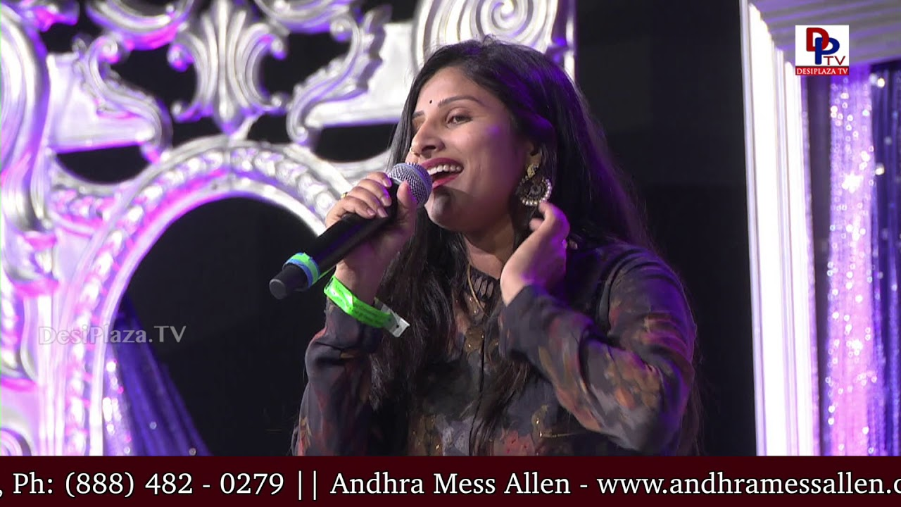 Matakari Mangli LIVE Performance at American Telugu Convention Banquet Night | DesiplazaTV