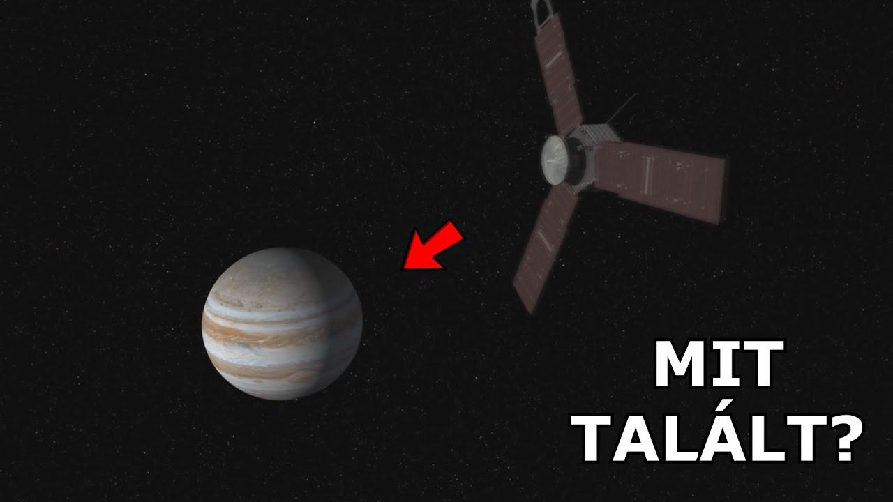 Mit talált a JUNO űrszonda, amikor a Jupiternél járt ❓