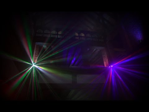 Westenhanger Castle Tudor Kitchen - Disco Lighting Demo