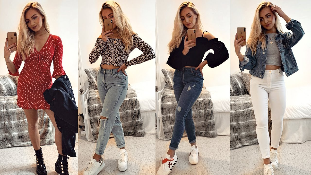 Casual Spring Summer Outfit Ideas Outfits Of The Week 2020 Youtube