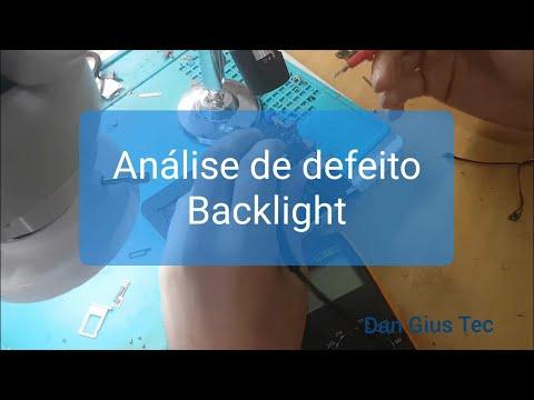Dica verificando defeito backlight iPhone 6