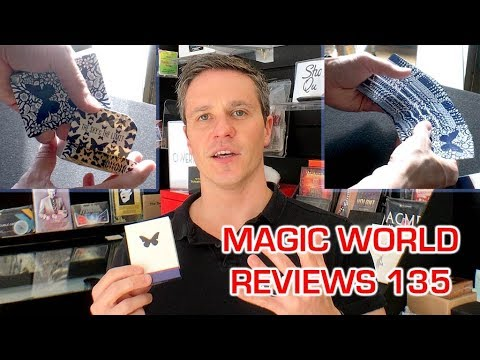 BUTTERFLY PLAYING CARDS BY ONDREJ PSENICKA // X JAMES CONTI TRICK REVIEW