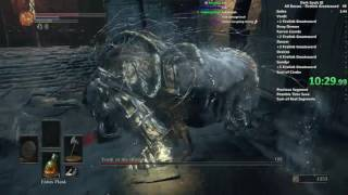Dark Souls III Firelink Greatsword All Bosses speedrun