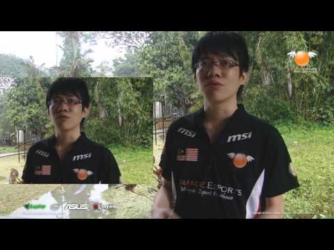 "Dota2 International player ""xtinct"" interview"
