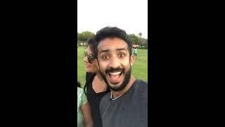 Anchor ravi  nd srimuki live on Dubai with fb fance
