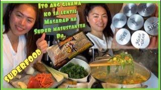 Tayo ng magluto ng masarap at super masustansyang lentil soup #superfood #filipinalifeinusa
