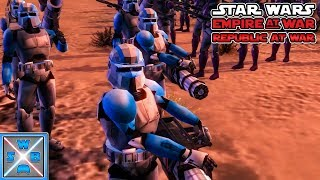 Klone sind SUPER! - Lets Play Star Wars Empire at War - Republic at War Mod #17