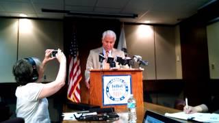 Akron Mayor Don Plusquellic last press conference