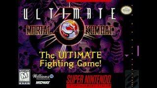 Ultimate Mortal Kombat 3 (Super Nintendo) - Stryker