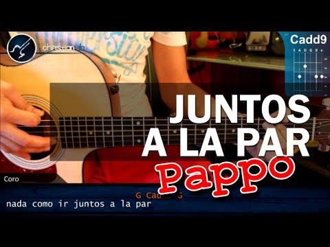 """Cómo tocar """"Juntos a la par"""" de Pappo en Guitarra Acústica (HD) Acordes - Christianvib"""