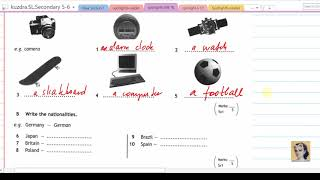 8 Spotlight 6 Test booklet Module 1
