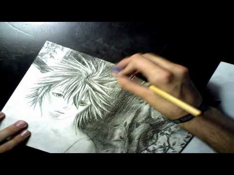 "Manga Drawing Request ""Minato Namikaze"""