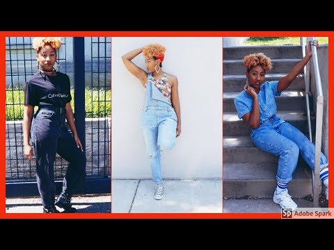 90's INSPIRED LOOKBOOK 2017 || 4 OUTFITS 👟