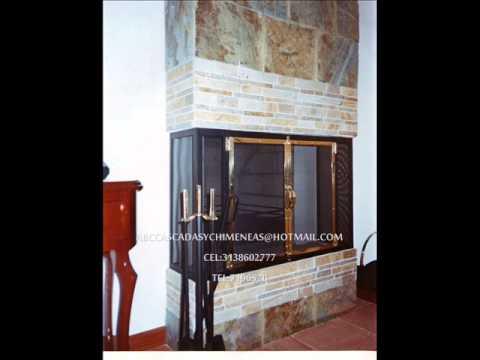 Puertas para chimeneas youtube - Chimeneas artificiales ...