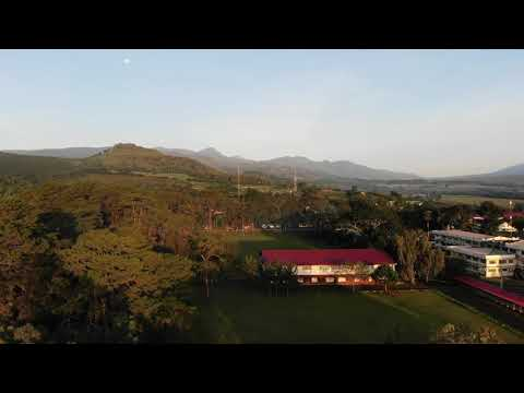 Mountain View College - Sunrise and Campus Drone