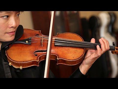 Long-lost Stradivarius violin thrills audiences again