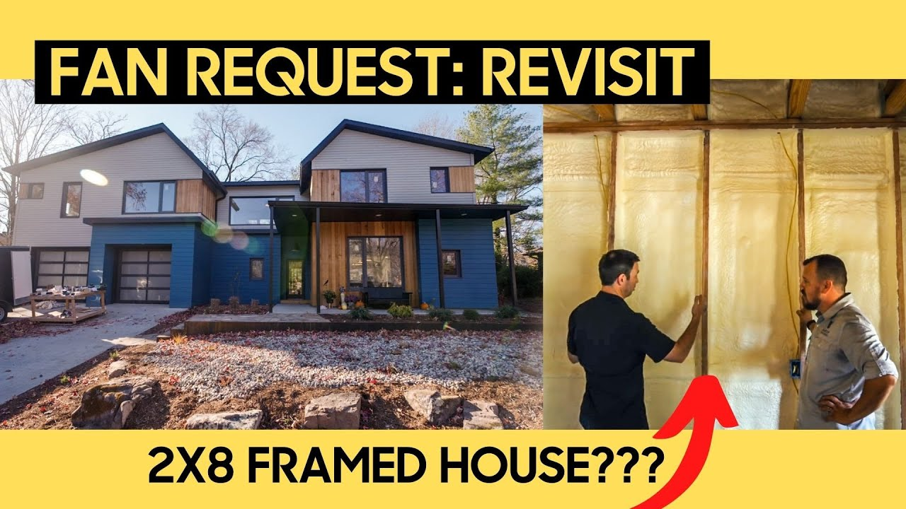 Builder's own INSANELY Efficient House!