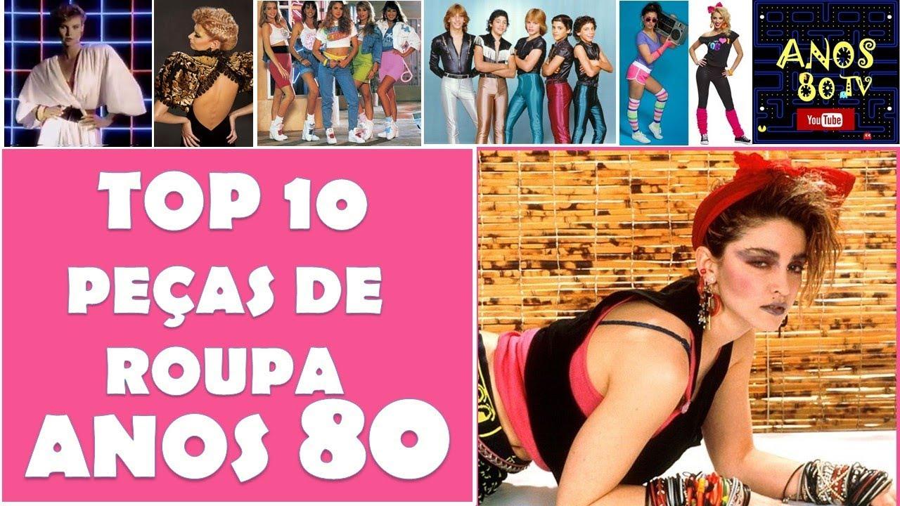 Top 10 Peças De Roupa Dos Anos 80 Tendências De Moda