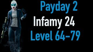 Payday 2 Infamy 24 | Part 2 | Level 64-79 | Xbox One