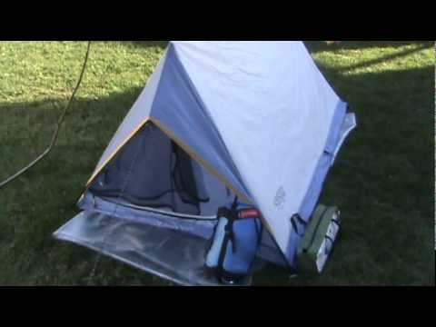 Back Packing On A Budget Wenzel Tent Review.wmv & Back Packing On A Budget: Wenzel Tent Review.wmv - YouTube