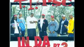 T.I. & P.S.C. - In Da Streets 3  -  Original CD