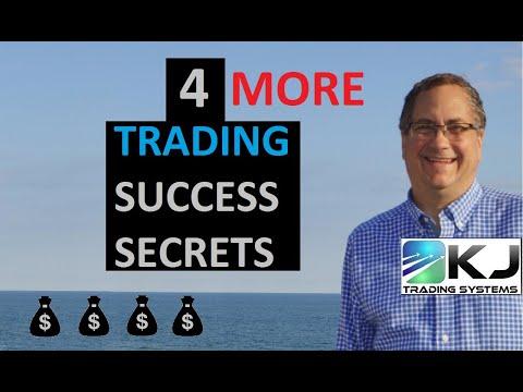 4 MORE Secrets of Successful Algo Traders