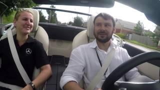"""Региональный тест-драйв тур новых автомобилей """"Mercedes-Benz"""""""