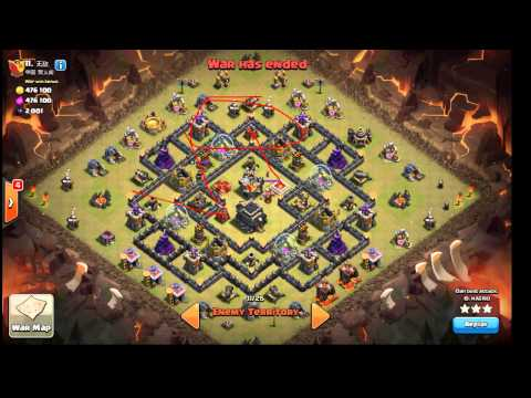 Shattered GoLaLoon by hagrid. MAX TH9 vs 2 Air Sweepers
