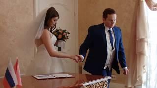 Свадьба любимого племянника. расписались!