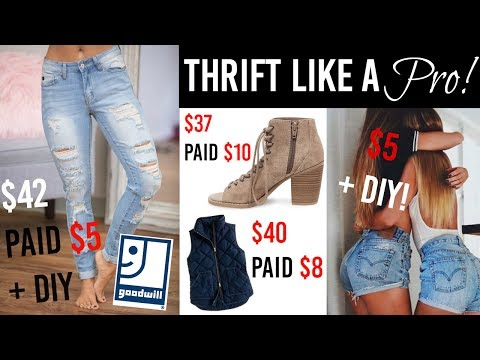 THRIFT LIKE A PRO! | TIPS AND TRICKS