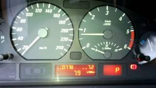 Vitesse ralenti BMW 320 cd e46 2005 150cv.